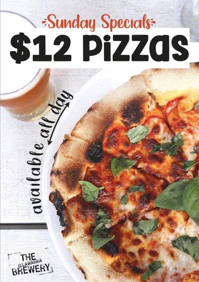 $12 Pizzas
