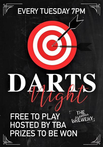 Darts - Tuesday Night