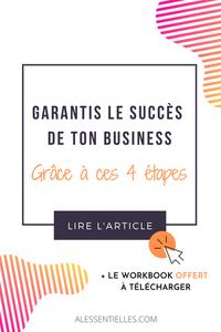 les 4 étapes à valider pour garantir le succès de votre projet-business