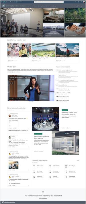 Leadership news, events, engagement