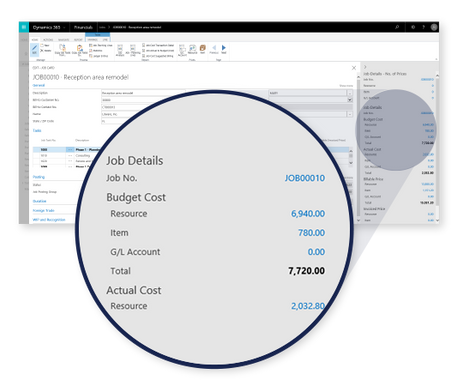 Client info Dynamics 365 for Financials
