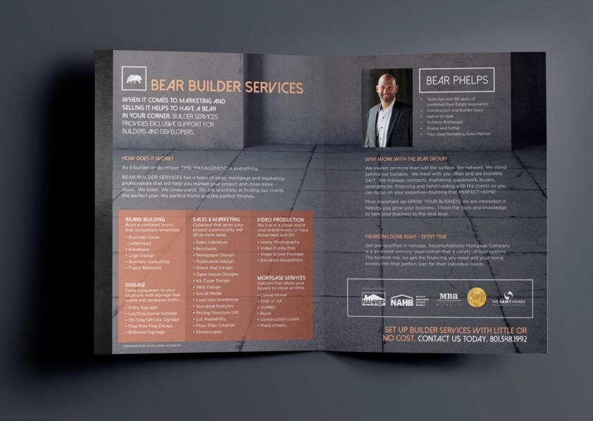 Bear Phelps Brochure _ UTCREATIVE