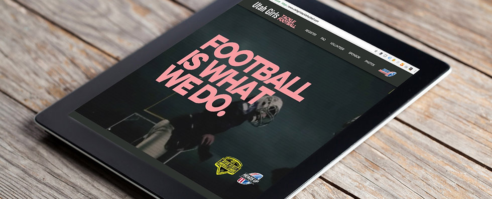 Football League Mockup Ipad