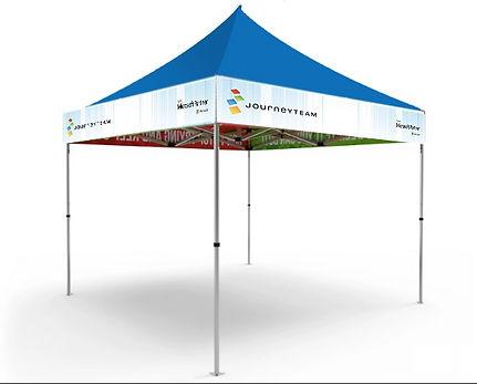 Microsoft Journey Team Mockups Tent