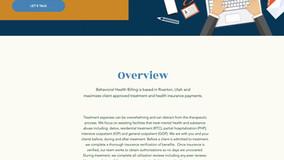 [Client Site] Behavioral Health Billing - Quickly becomes Top Billing Website in Utah.