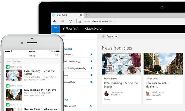 SharePoint Intranet and Website Soltions