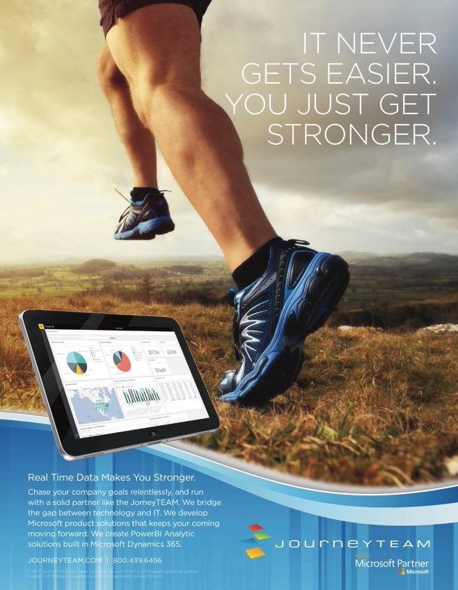 Microsoft JourneyTEAM Full Page ad