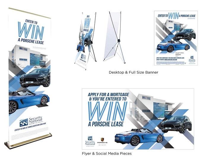 Enter to Win a Porsche Lease Mockup