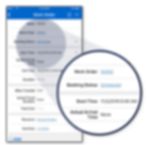Mobile Dynamics 365 Work Order Screen Shot | JourneyTEAM