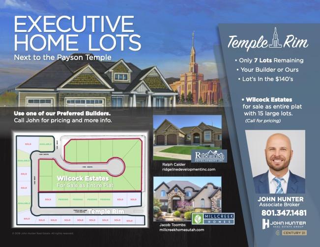 Executive Home Lots Utah