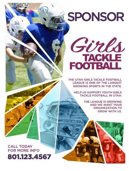 Girl Tackle Football