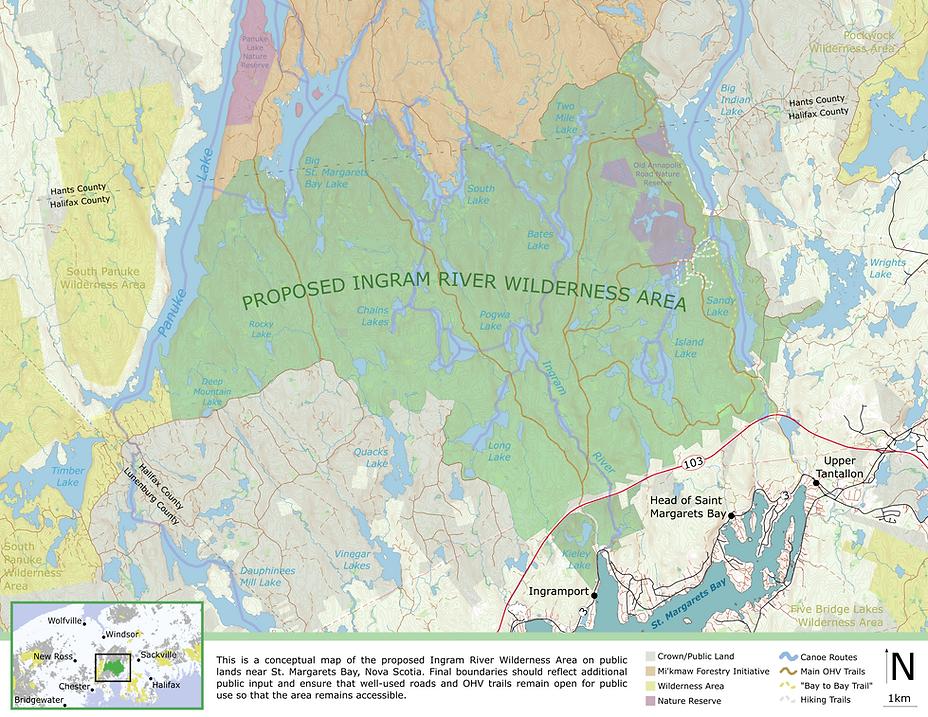 Proposed boundaries