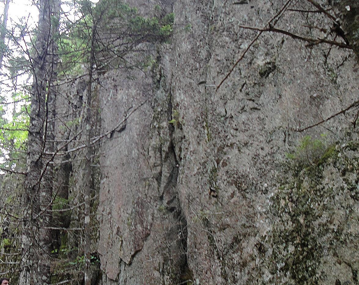 Impressive ridges