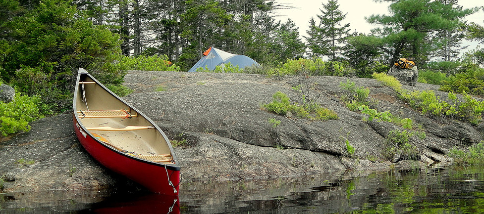 Countless campsites to choose from!