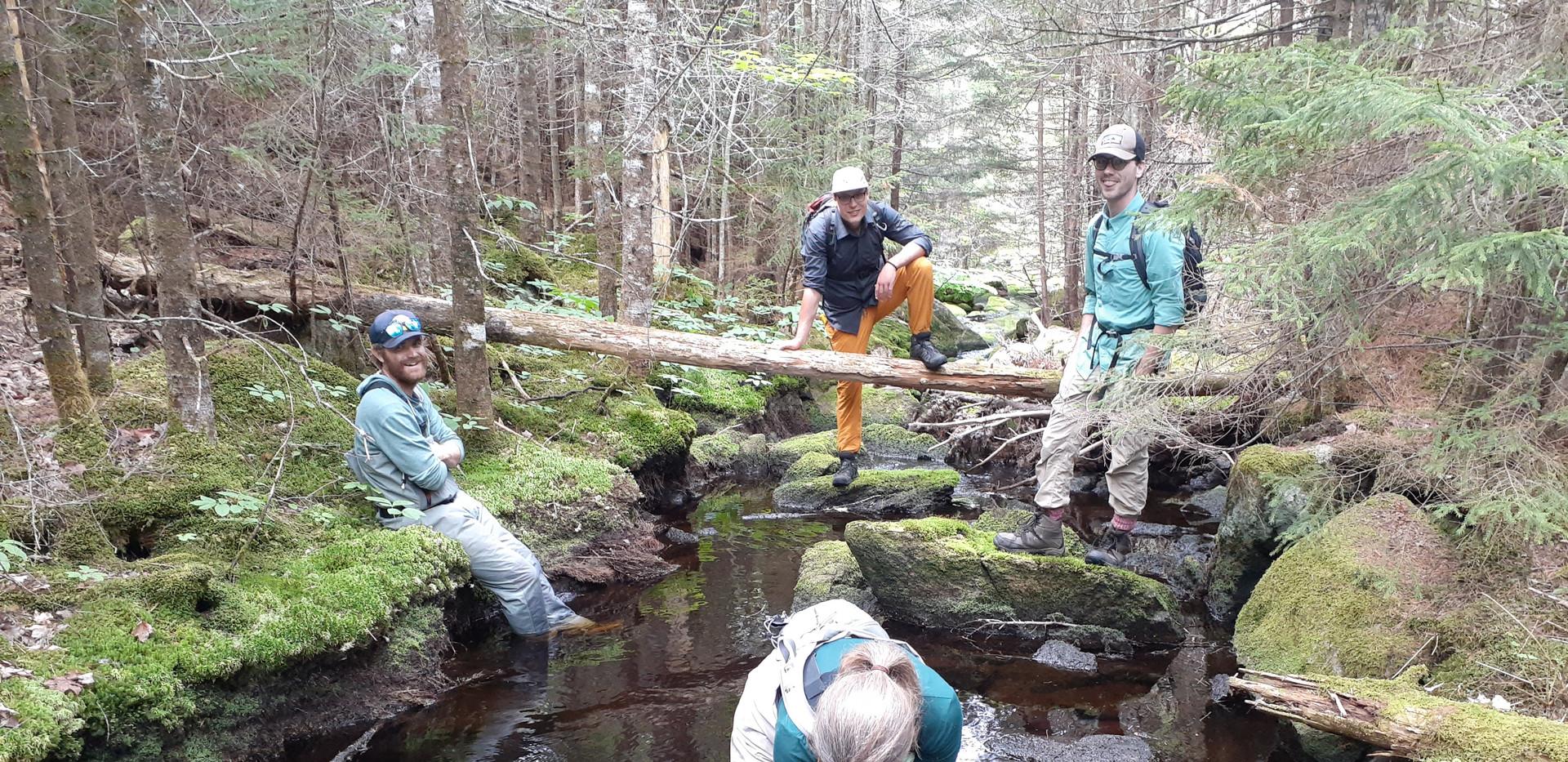 River restoration with Adopt-A-Stream