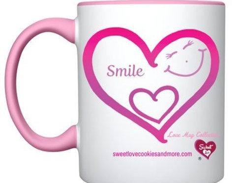 'Smile' Love Mug