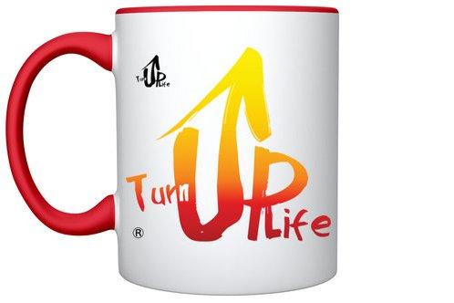 'Turn UP Life' Love Mug