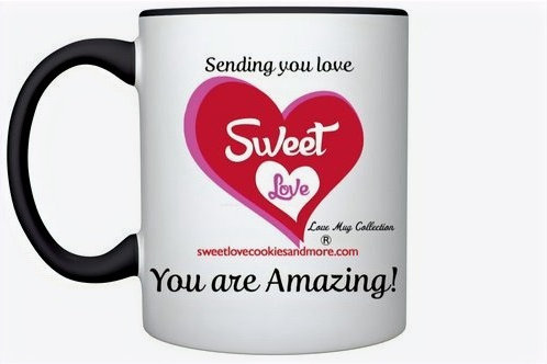 Sending You Love 'You are Amazing' Love Mug