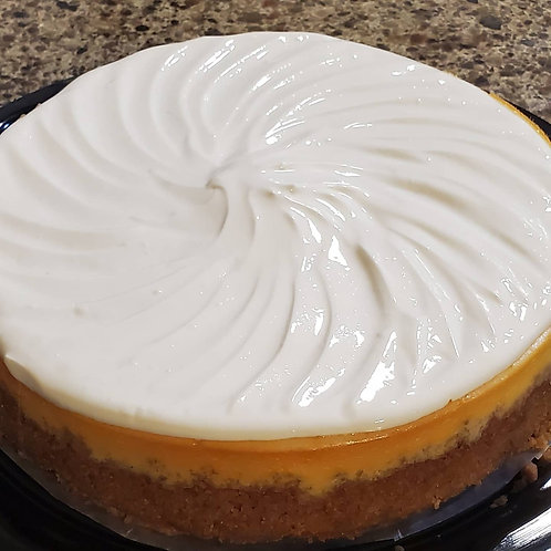 Cheesecake with signature icing