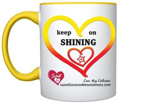 'Keep on Shining-You are Amazing' LoveMug