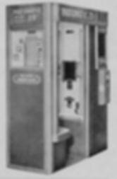 Antigas Cabine de Fotos