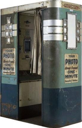 Cabine de Foto Antiga