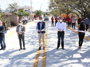 Inaugura Rutilio Escandón pavimentación del Bulevar Suchiapa-Pacú