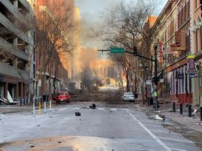 Auto-bomba sacude Nashville, en Estados Unidos