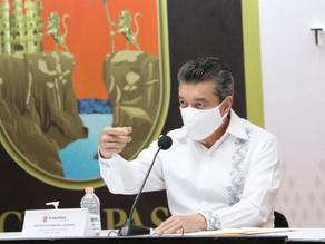 Destaca Rutilio Escandón avances de la obra pública en Chiapas