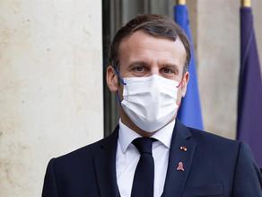 Positivo de Macron por coronavirus revoluciona la política francesa