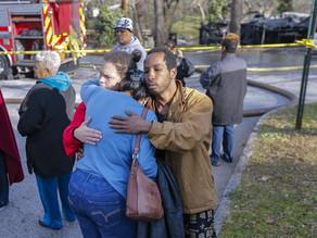 Mueren 3 niñas latinas y su madre en incendio de casa móvil en Georgia