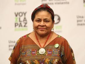 Rigoberta Menchú envía carta de apoyo a Manzanero, intubado por covid-19