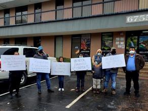 Hondureños exigen se investigue red de corrupción en torno a pasaportes