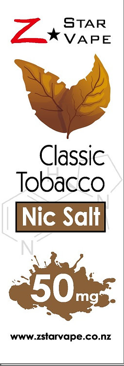 NicSalt | Classic Tobacco by ZstarVape