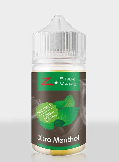 NicSalt | Xtra Menthol 30ML by ZstarVape