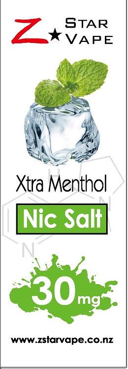 NicSalt | Xtra Menthol by ZstarVape