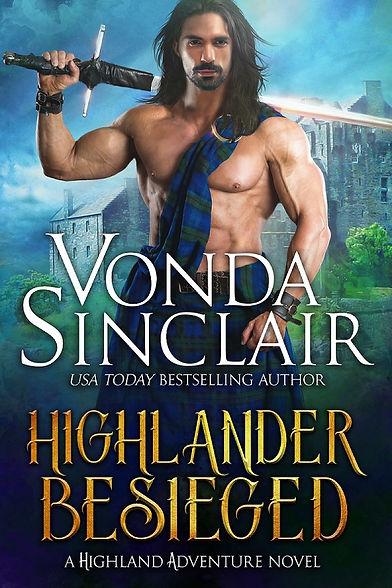 Highlander Besieged_Vonda Sinclair