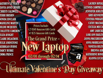 Amazing Valentine's Giveaway