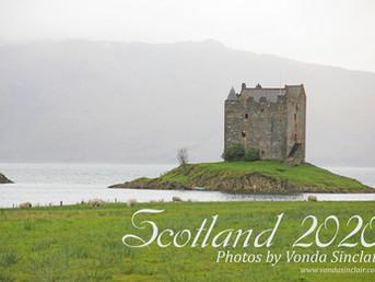 Scotland 2020 Calendar