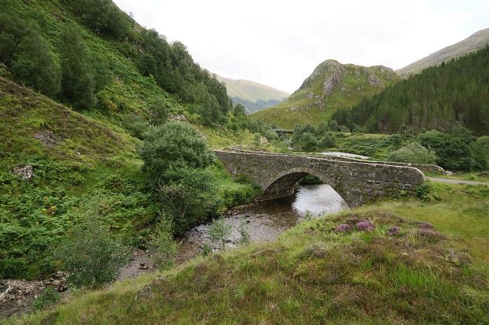 Old Glen Shiel Bridge