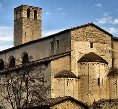 basilica San Ponziano Spoleto