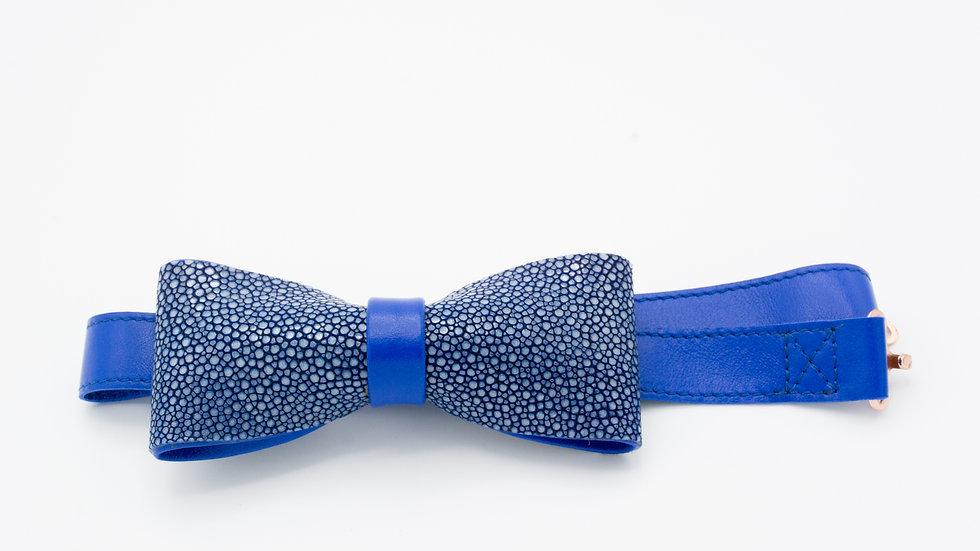 Cobalt Bow Tie
