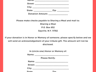Donation Form Online