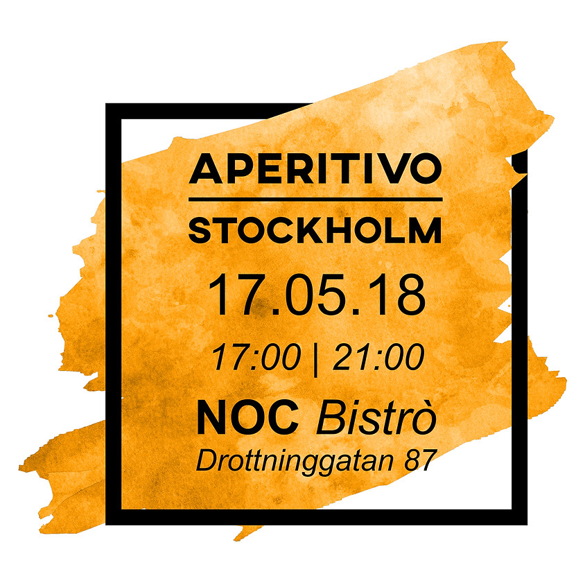 APERITIVO STOCKHOLM AT NOC