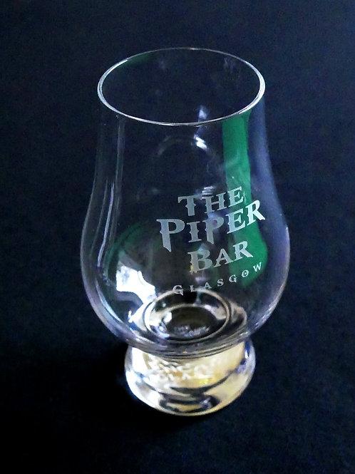 Engraved Glencairn whisky glass