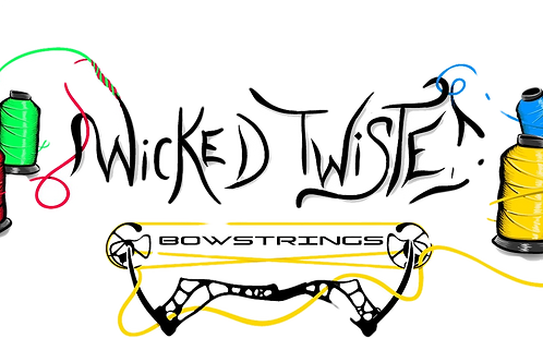 Wicked Twisted Bowstrings Sticker