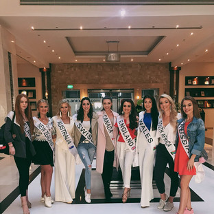 Miss Intercontinental delegates