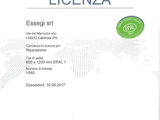 Licenza EPAL I-640
