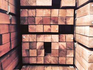 Prezzi del legname in aumento