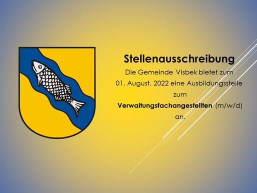 Gemeinde Visbek bietet Ausbildungsstelle zum Verwaltungsfachangestellten (m/w/d) an
